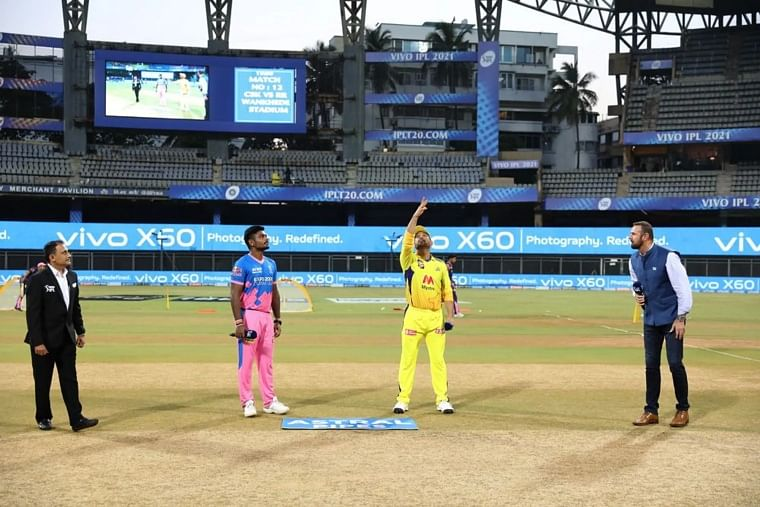 IPL 2021: Rajasthan Royals win toss, elect to bowl against Chennai Super Kings