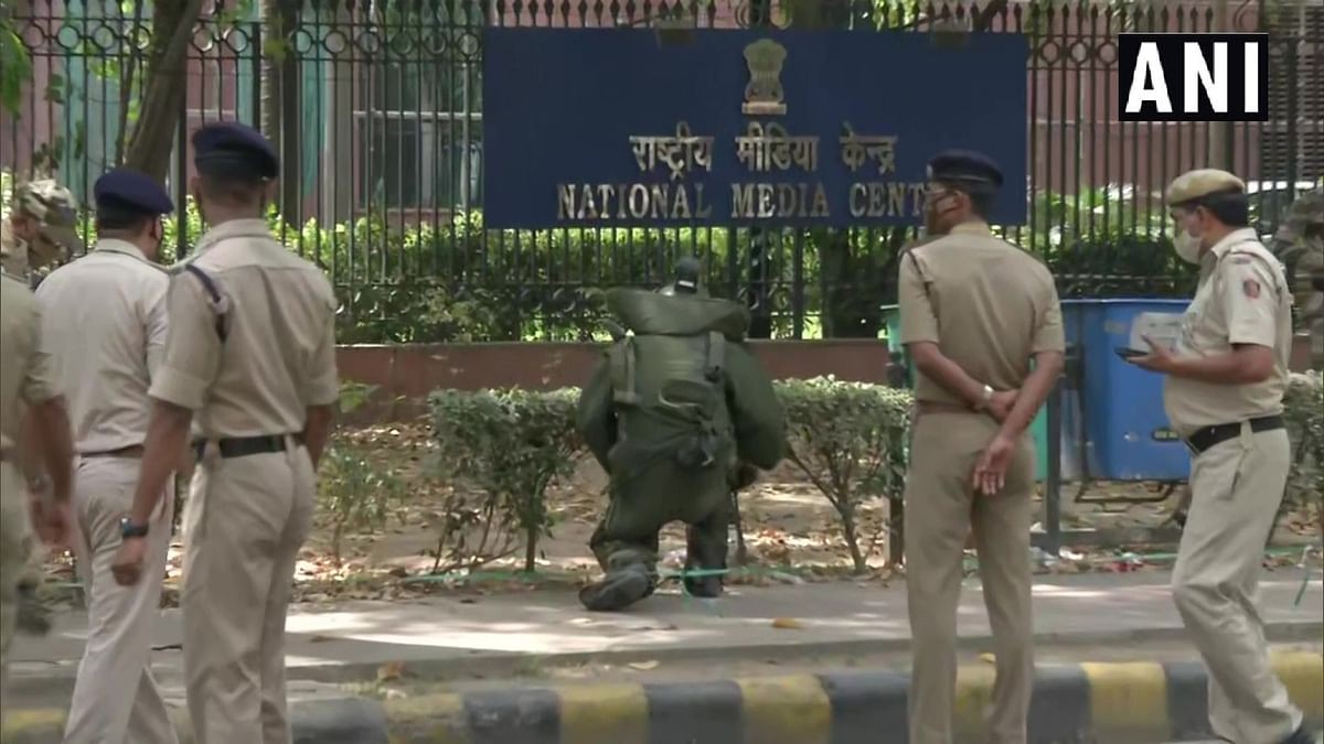 Suspicious item found outside National Media Centre was plastic toy, no explosive, says Delhi Police