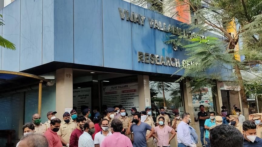 Mumbai: 12 patients die in fire at Vasai Covid hospital