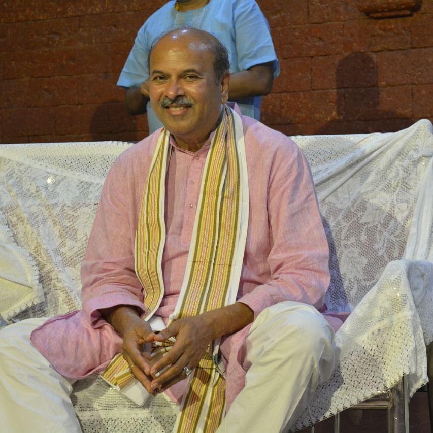 """The Shanti Mantra """"Sarve Bhavantu Sukhinaha"""": NJ Reddy, YPV Sadhana"""