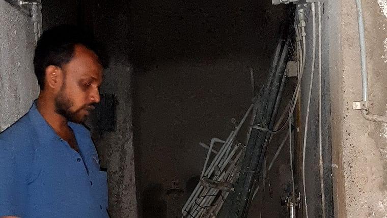 Mumbra hospital fire: Saw blaze when I went to replace cylinder, says ward boy