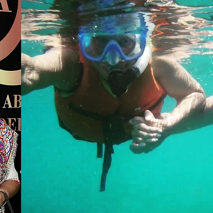 Waheeda Rehman, 83, goes snorkeling with daughter Kashvi at Andaman Islands