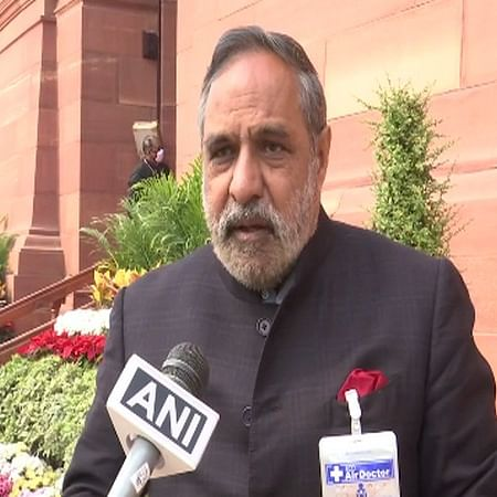 Congress leader Anand Sharma tests positive for COVID-19, admitted to Apollo Hospital