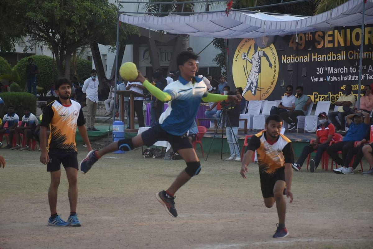 Handball tournament  in Indore