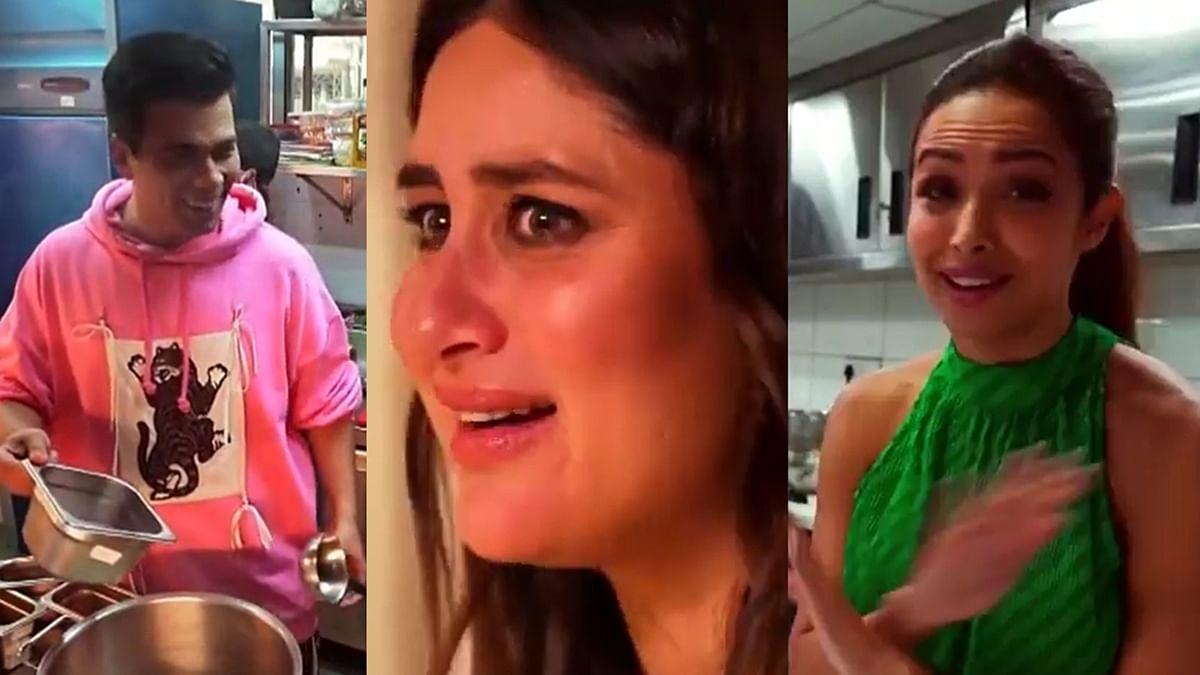What's cooking between Kareena, Karan Johar, Malaika, Arjun and Pratik Gandhi?