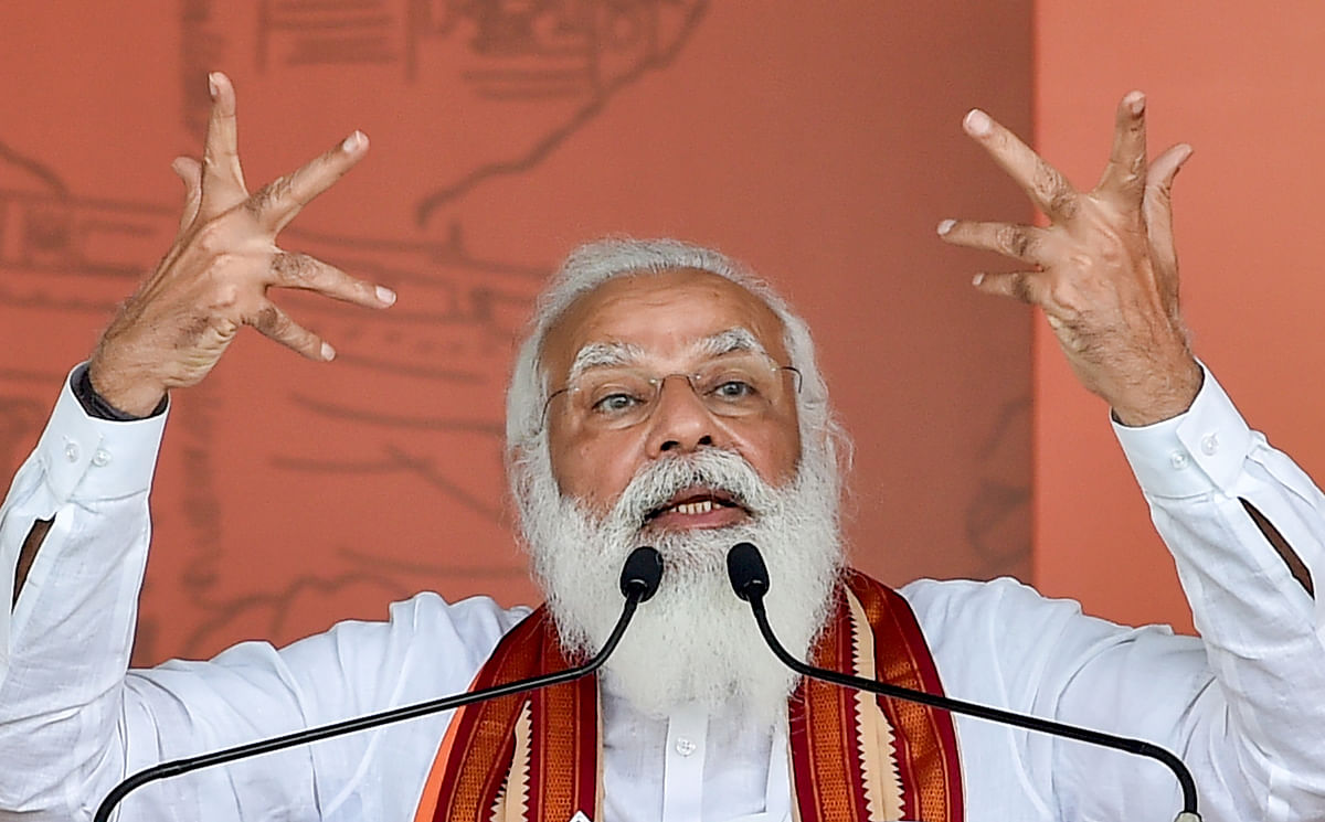 'Didi is asking for minority votes openly but EC...': PM Modi rubbishes Mamata Banerjee's 'central forces are intimidating voters' claim