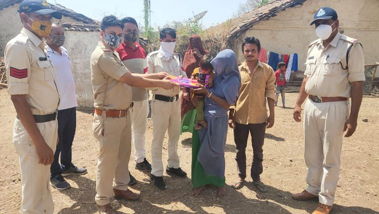 Police handed over the girl to her family in Udaigarh on Saturday