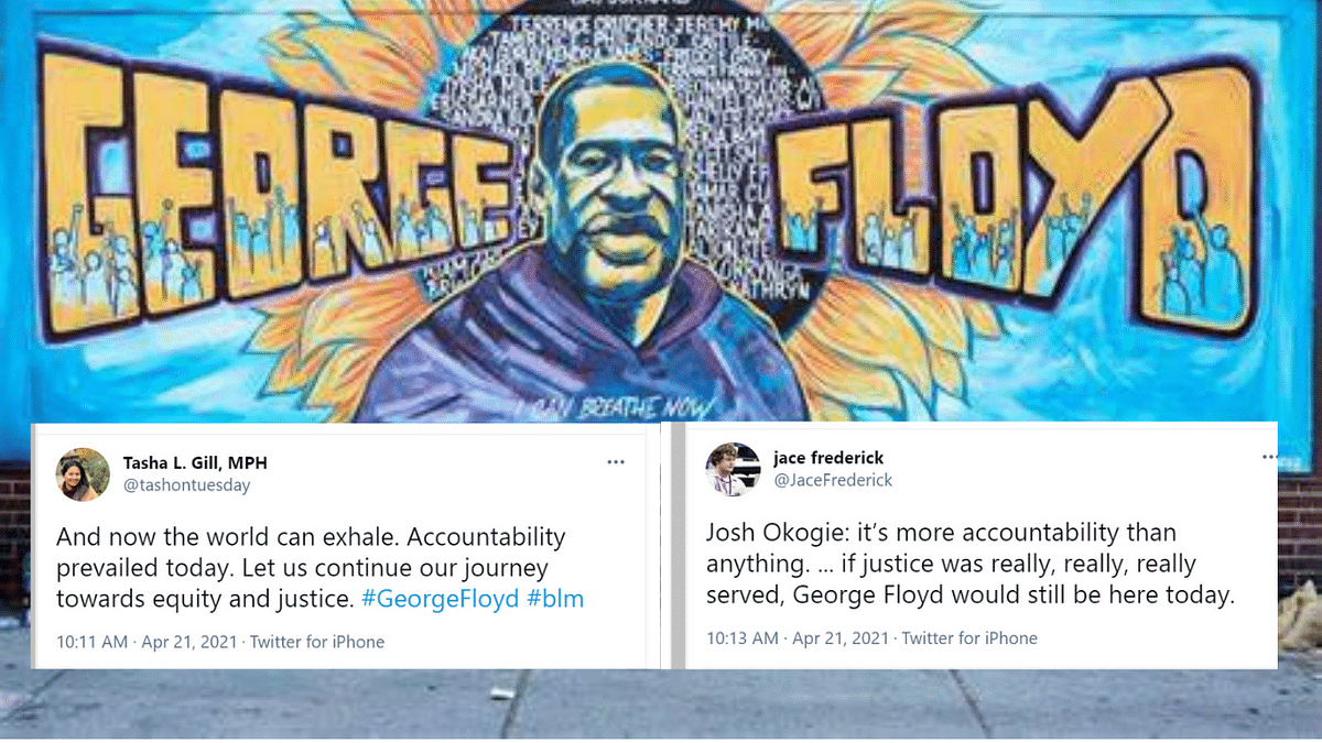 Derek Chauvin found guilty; Twitterati cheer but believe single verdict isn't enough to dismantle systemic racism