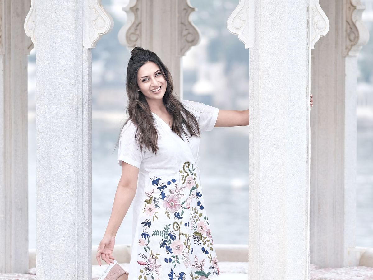 Star & style: 'I look best in sarees', says television star, Divyanka Tripathi