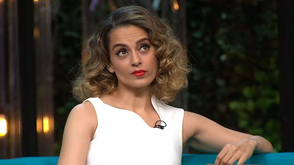 Watch: Kangana shares video of a fan recreating her 'nepotism' remark on 'Koffee With Karan'