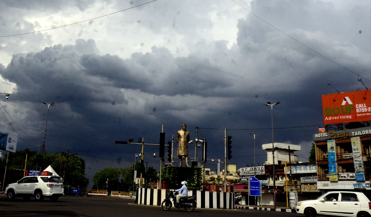 Bhopal: Cyclone Tauktae continues its impact on weather in Madhya Pradesh