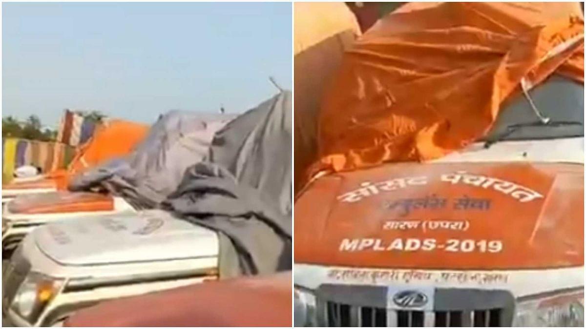 COVID-19: Pappu Yadav spars with Rajiv Pratap Rudy over 'unused ambulances' in Bihar