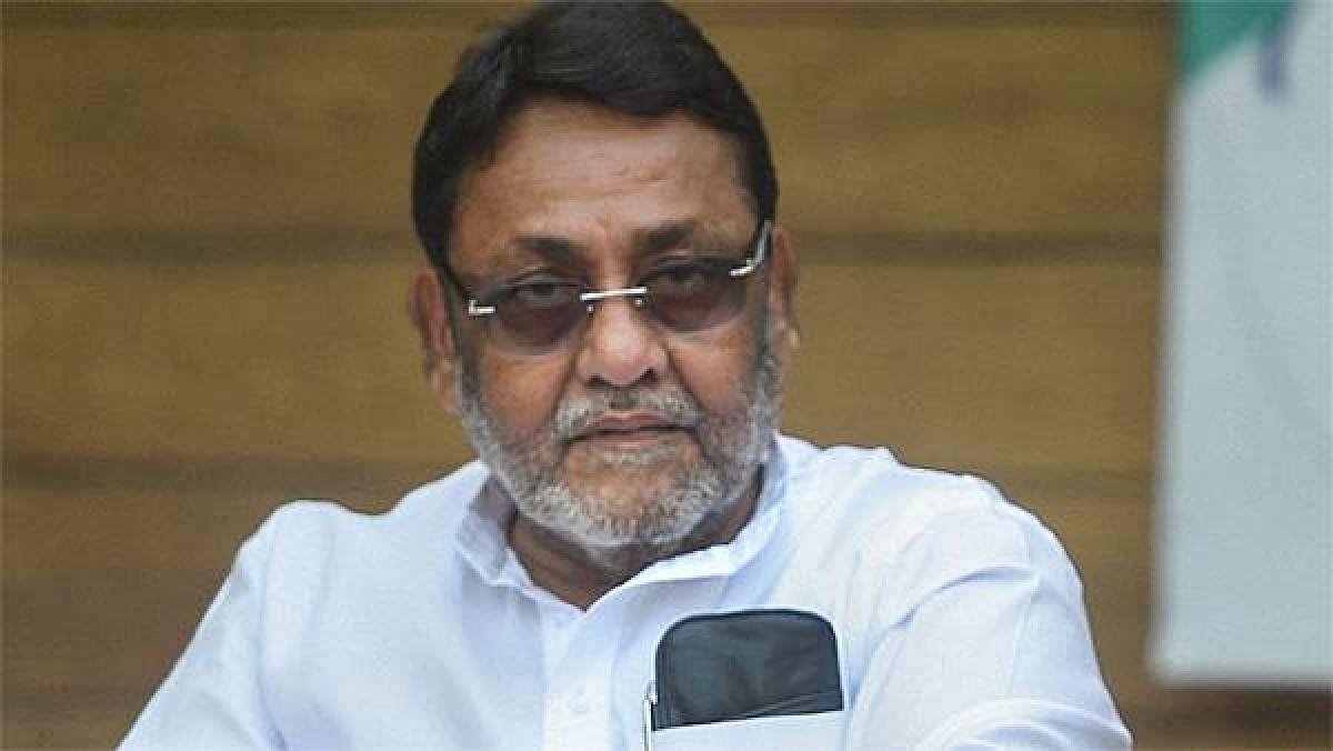 Maharashtra minister Nawab Malik slams state BJP chief for his statement against Bhujbal