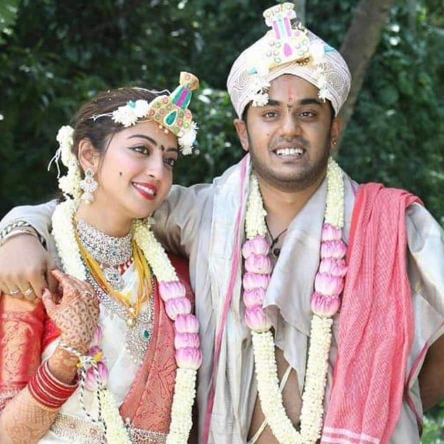Pranitha Subhash ties the knot with Nitin Raju in a hush-hush ceremony; apologises to fans for not informing them
