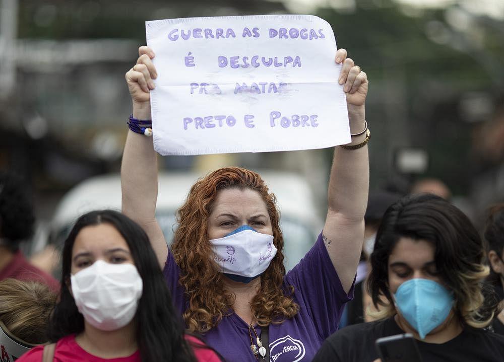UN slams police operation in Brazil