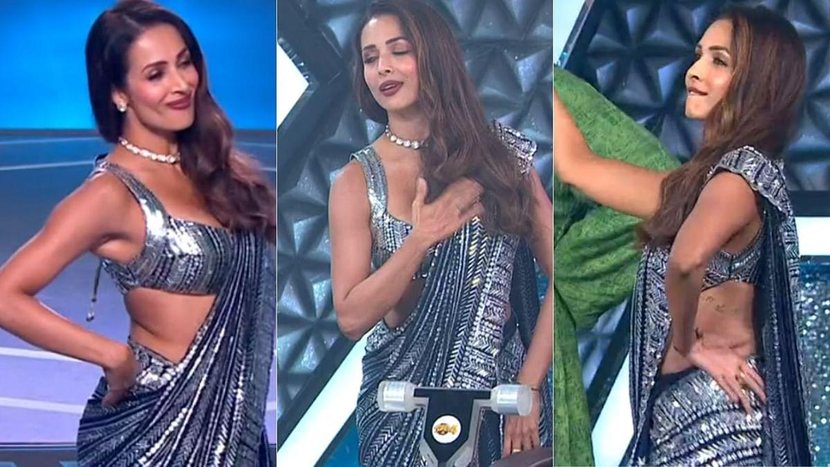 Malaika Arora grooves to beau Arjun Kapoor's hit song on 'Super Dancer 4'