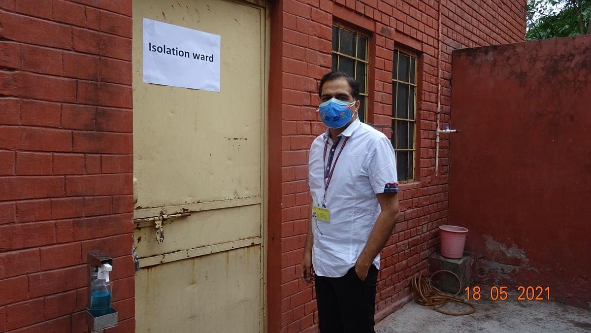 Chetan Prakash Jain, CMD, CEL inaugurates Covid-19 isolation wards