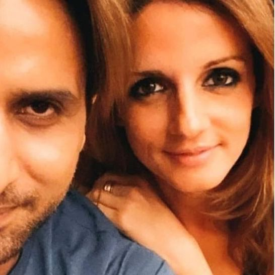 Watch: Sussanne Khan receives second dose of COVID-19 vaccine shot; check out rumoured boyfriend Arslan Goni's reaction