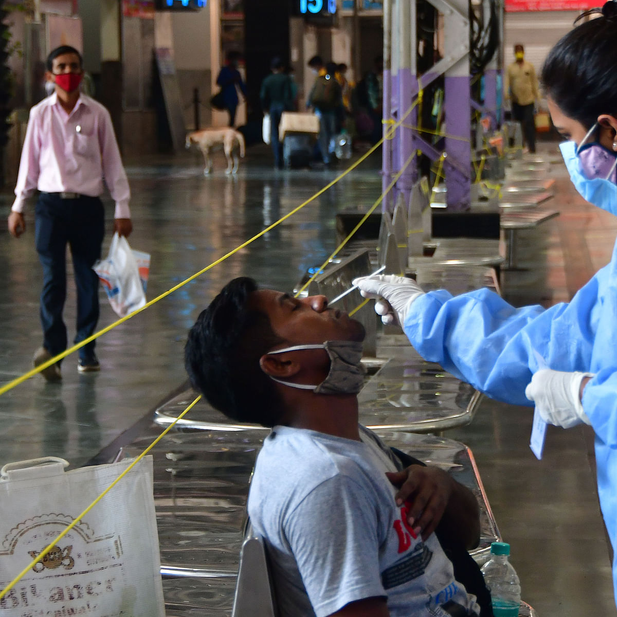 India records 42,640 new COVID-19 cases, lowest in 91 days