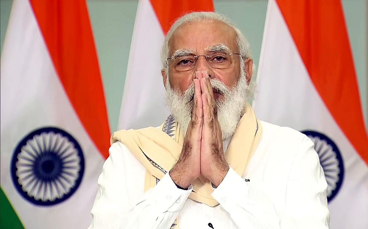 Shrinking! Modi. BJP. Even India