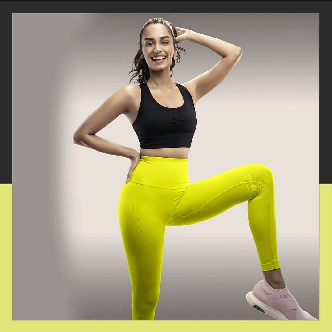 Manushi Chillar, Fitness Queen