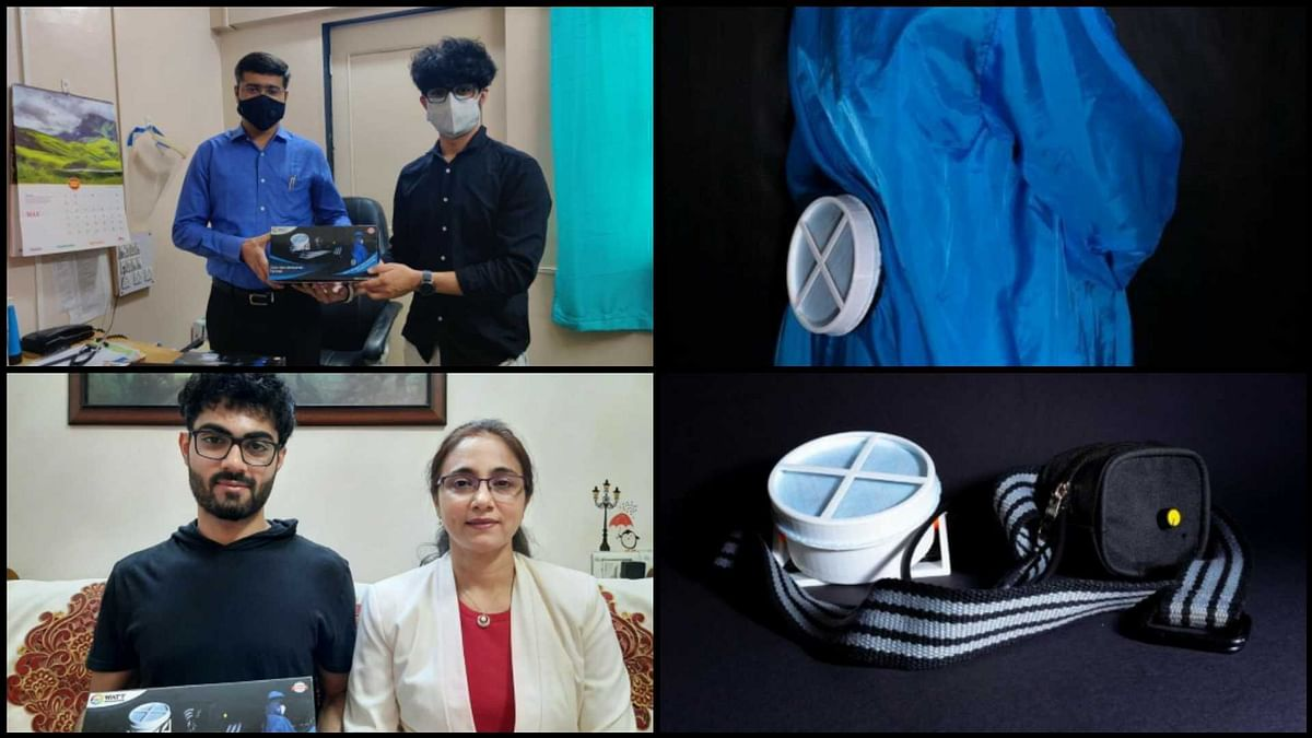 'Cool' PPE kit for Covid warriors, thanks to student from Mumbai