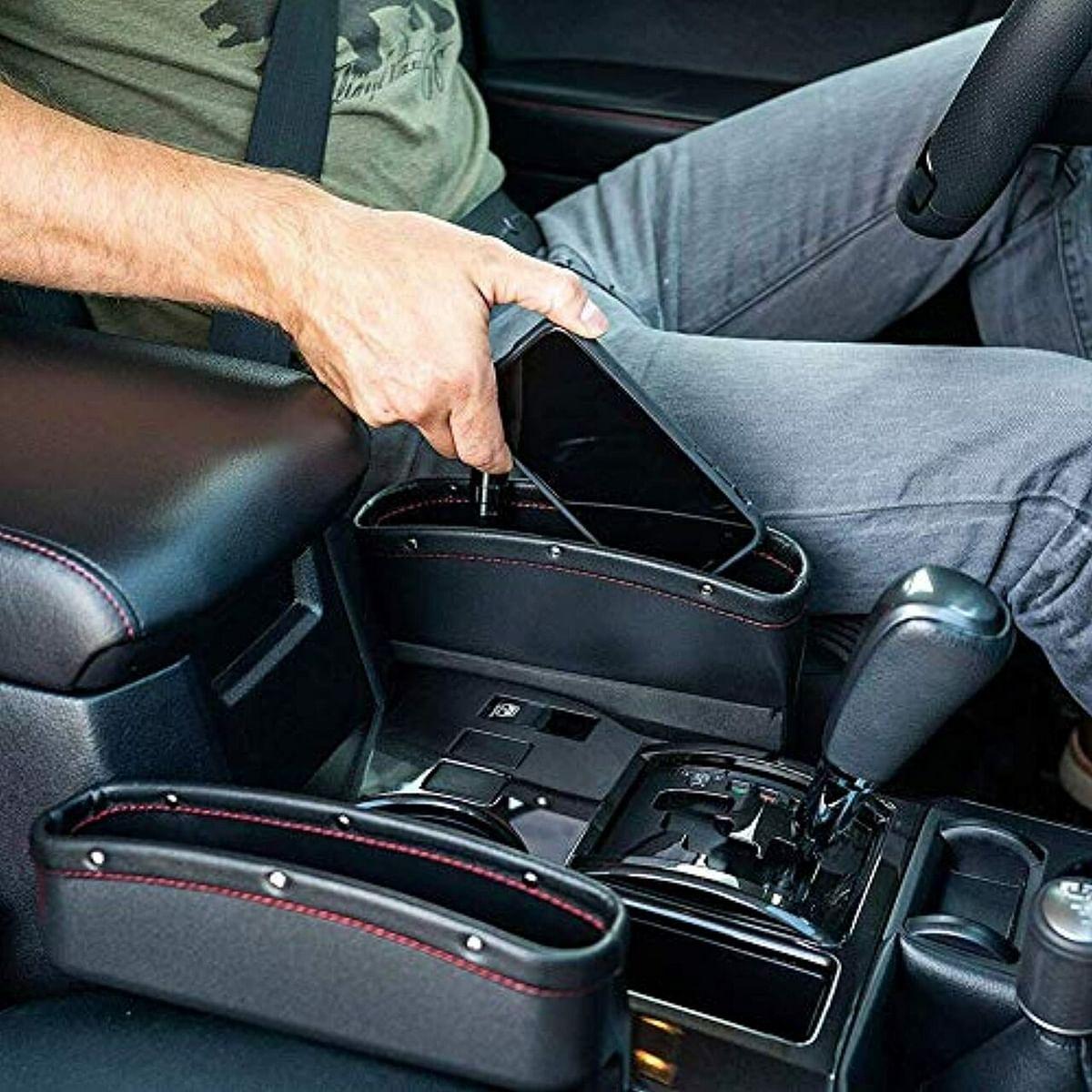 Lukzer 2 PC Car Seat Gap Filler