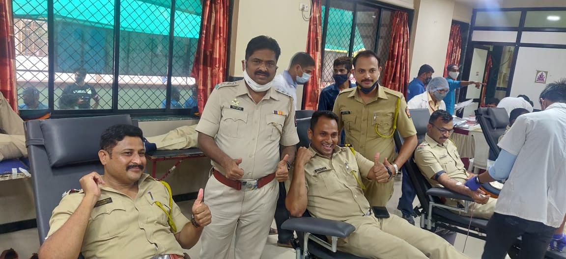 Vile Parle blood donation camp: Cops organise drive to help collect 648 bags of blood