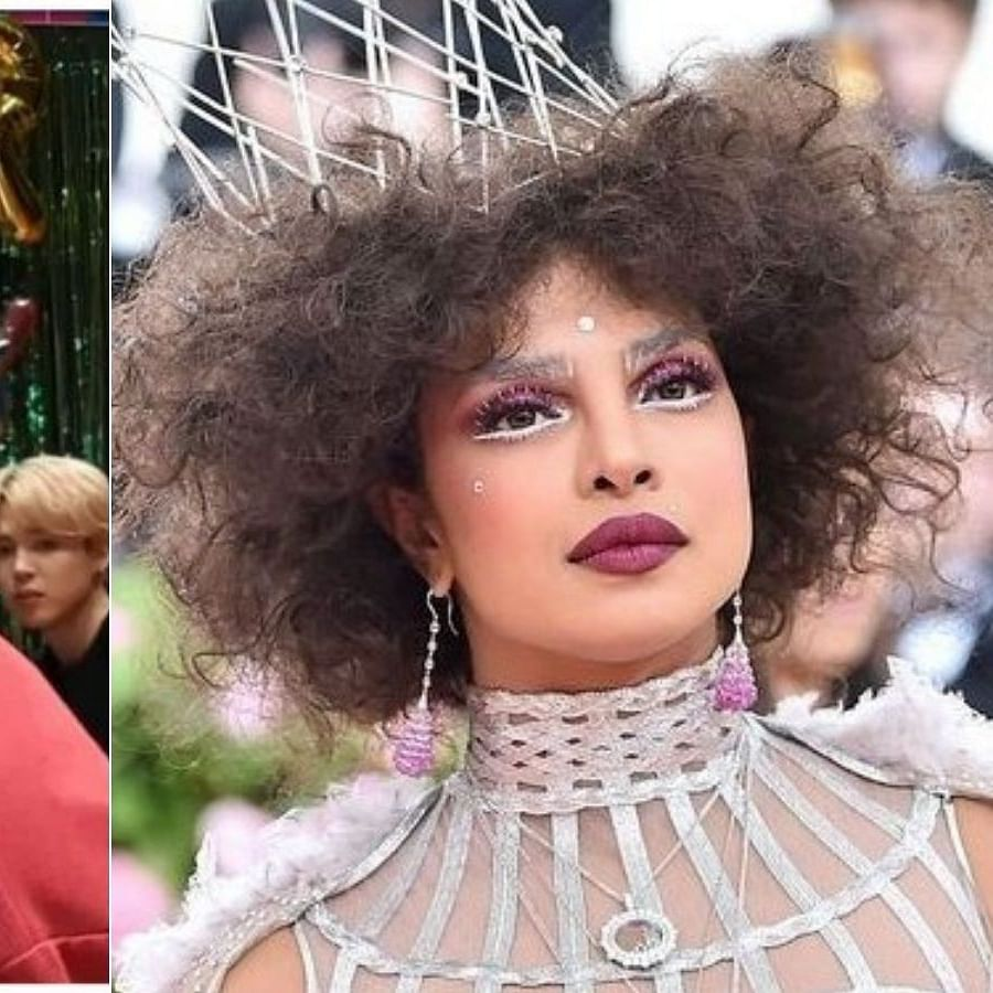 BTS' V's new hairstyle reminds ARMY of Priyanka Chopra Jonas, fans share hilarious tweets