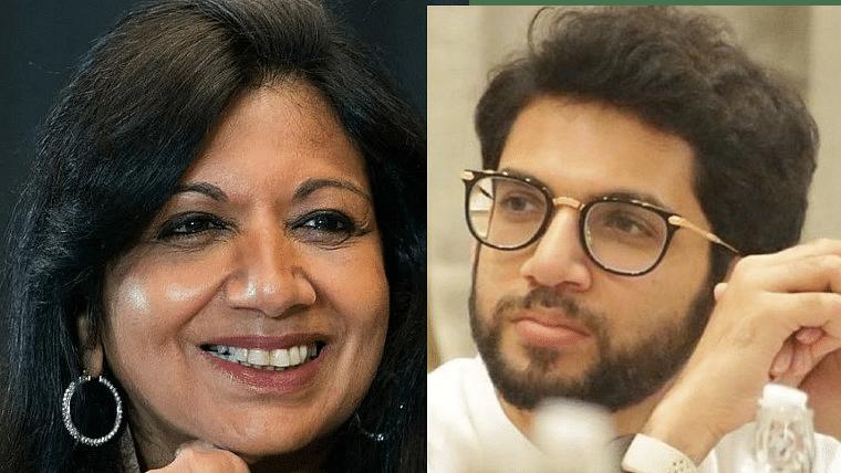 COVID-19: Kiran Muzumdar Shaw 'super impressed' with 'Mumbai model'; check out Aaditya Thackeray's reaction