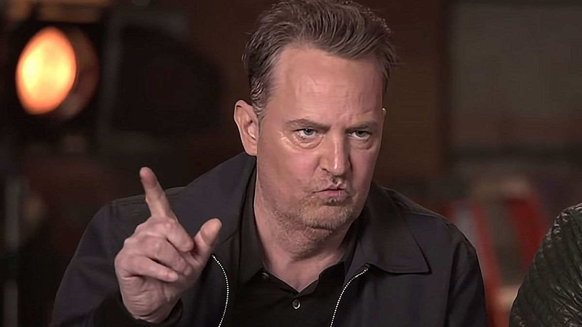Matthew Perry's appearance on the special episode has sparked health concerns