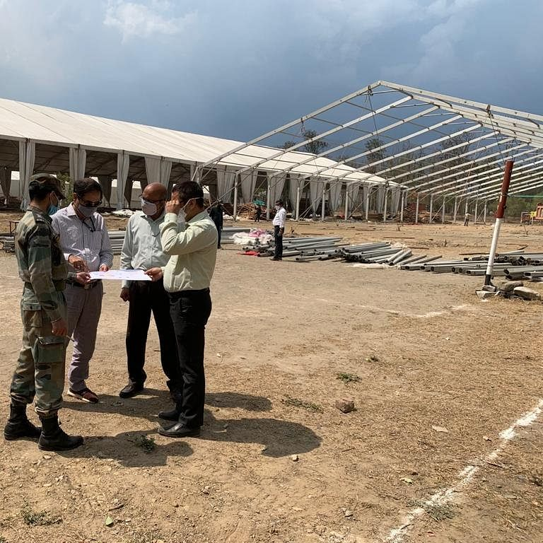 Amid surge in cases, DRDO setting up two COVID care hospitals in Uttarakhand's Haldwani and Rishikesh
