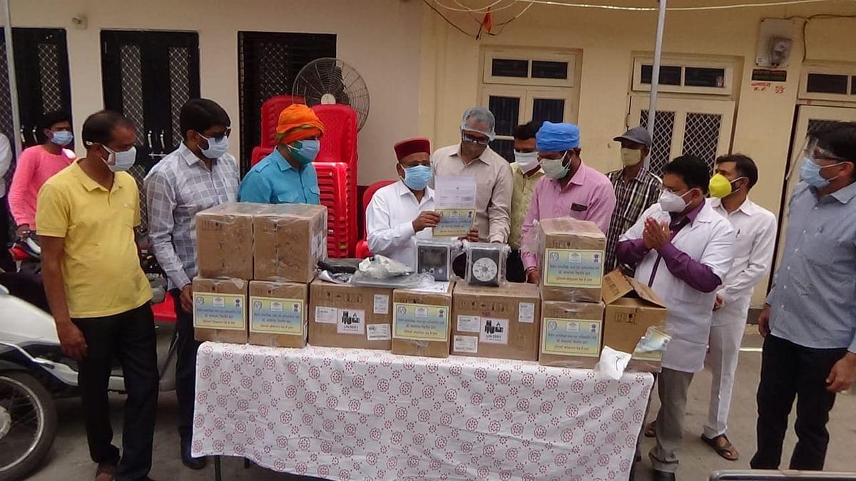 Madhya Pradesh: Nagda administration gets 10 BiPAP machines
