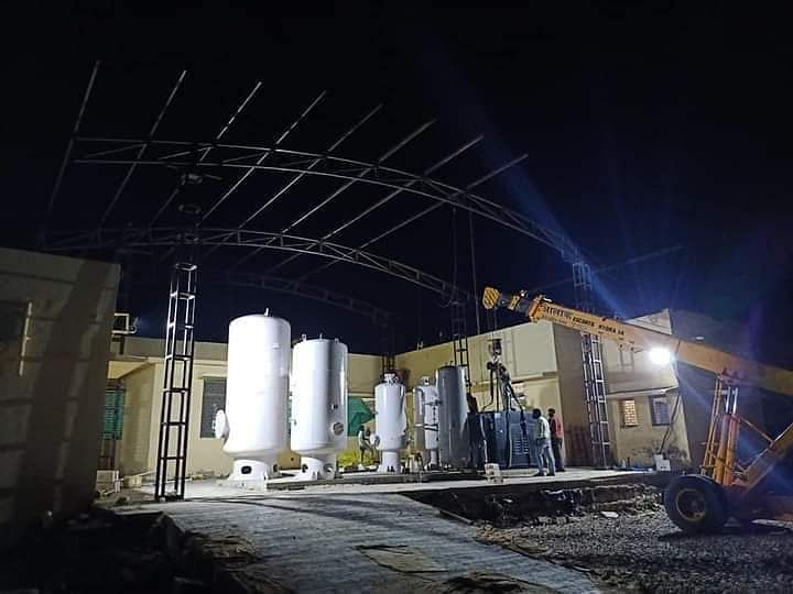 Neemuch: Oxygen plant in Manasa nearing completion, first facility in tehsil with zero government support