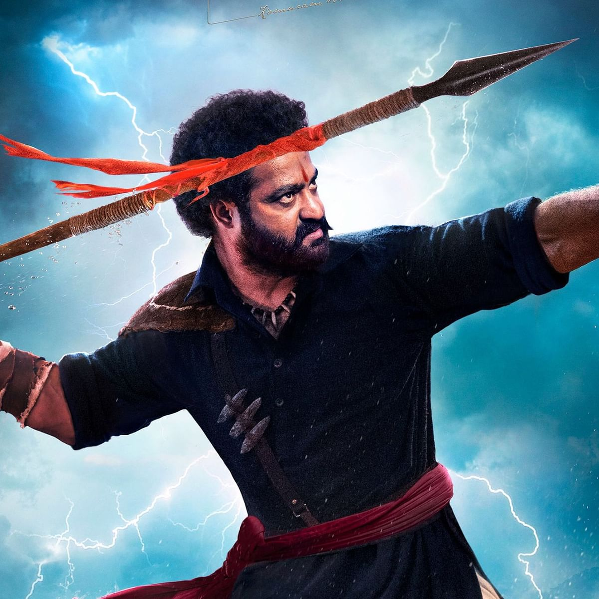 On Jr NTR's birthday, 'RRR' makers unveil new look of the actor as Komaram Bheem, see pic