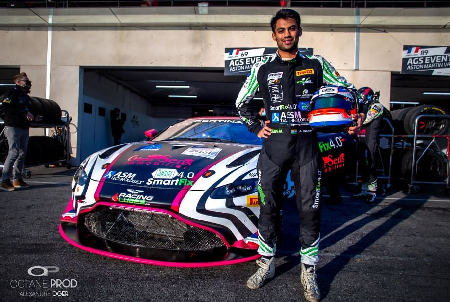 Akhil Rabindra inches closer to an Aston Martin Racing Drivers contract