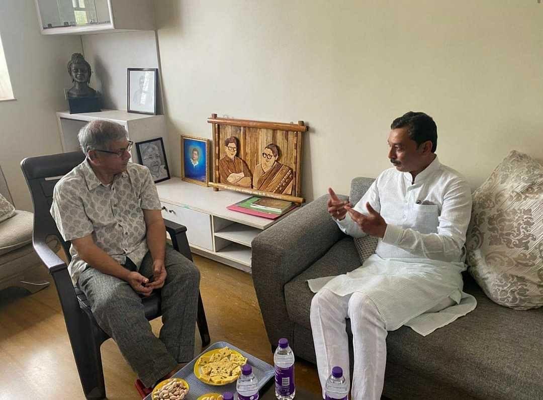 Maratha reservation: Sambhaji Chhatrapati meets VBA chief Prakash Ambedkar