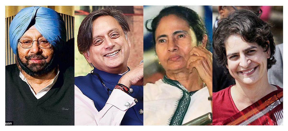 Alternative options: Capt. Amarinder Singh, Shashi Tharoor, Mamata Banerjee, Priyanka Gandhi