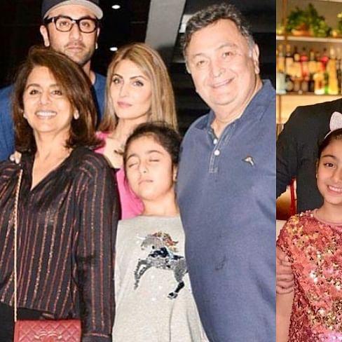 Ranbir Kapoor's niece Samara Sahni, 10, makes Instagram debut; check out her adorable pics, videos