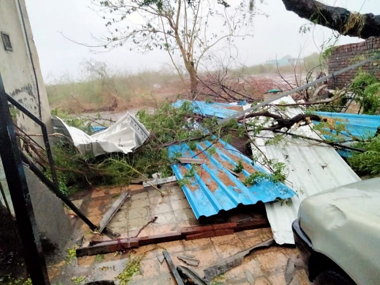 In pics: Cyclone Tauktae ravages parts of Gujarat, leaves behind trails of destruction