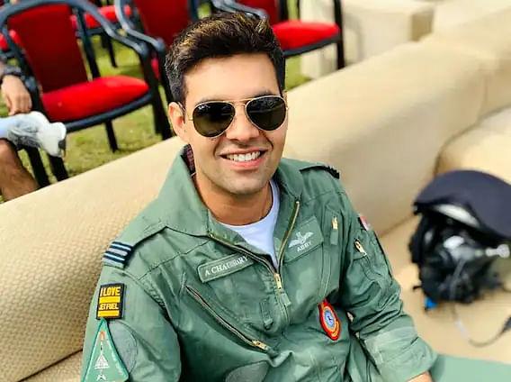 Squadron Leader Abhinav Choudhary