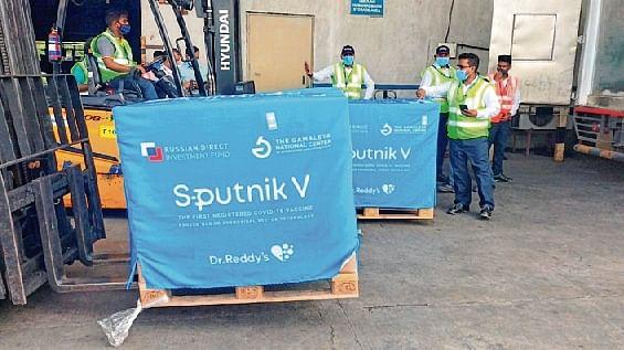 Second batch of 60,000 Sputnik V vaccine reaches Hyderabad