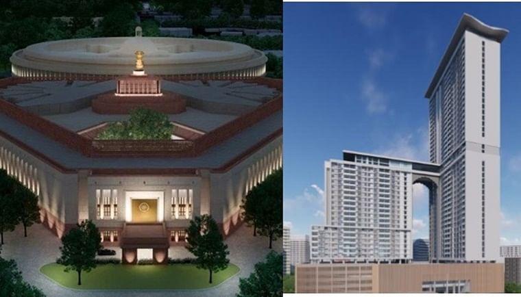 Central Vista Vs Manora MLA Hostel: War of words erupts between BJP and Congress over redevelopment projects