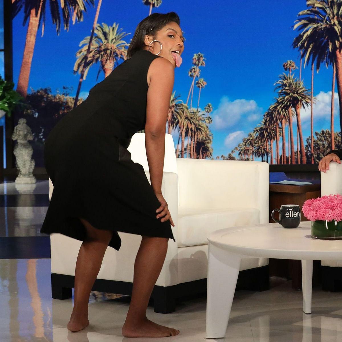 Is Tiffany Haddish replacing Ellen DeGeneres on the talk show? Actor-comedian reacts