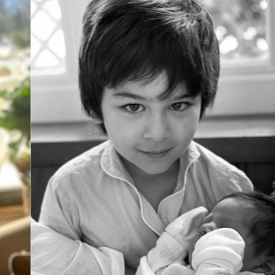 Kareena Kapoor Khan shares Taimur's pic with baby brother on Mother's Day; Anushka Sharma reacts