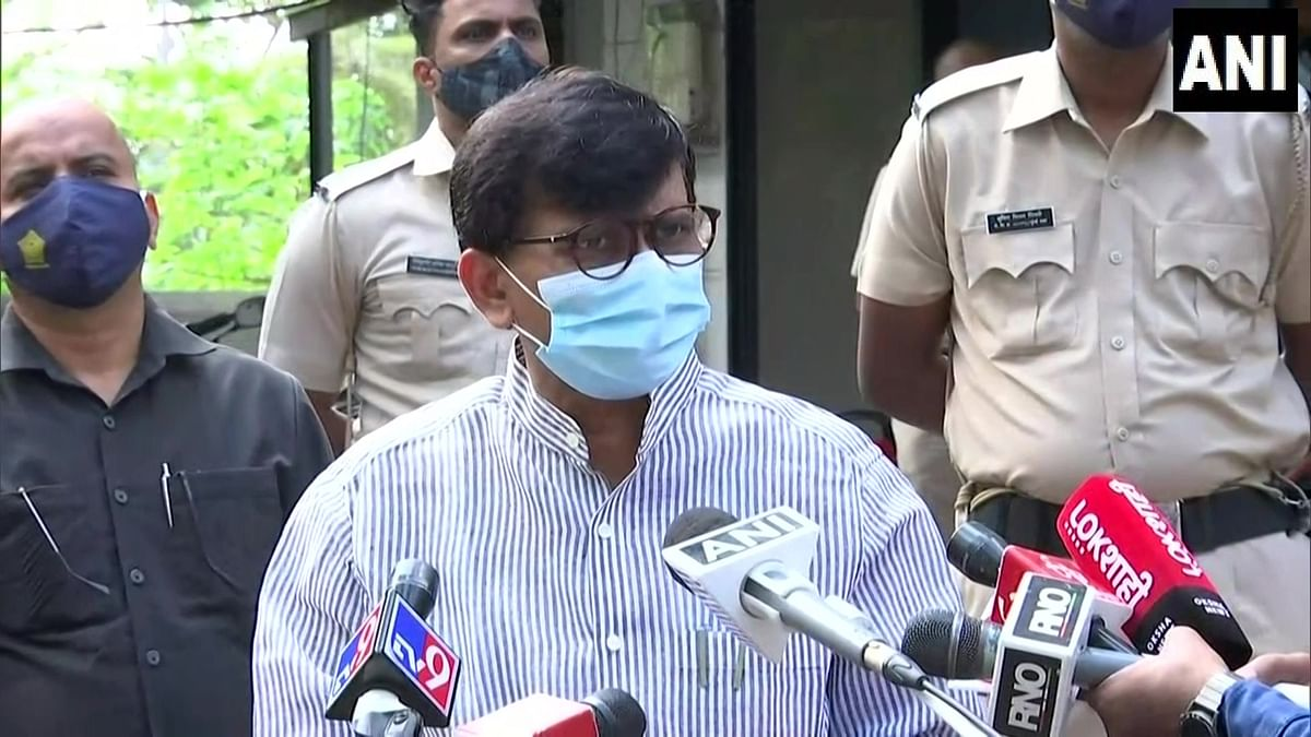 Maharashtra also faced oxygen shortage but state govt handled crisis well, says Sanjay Raut