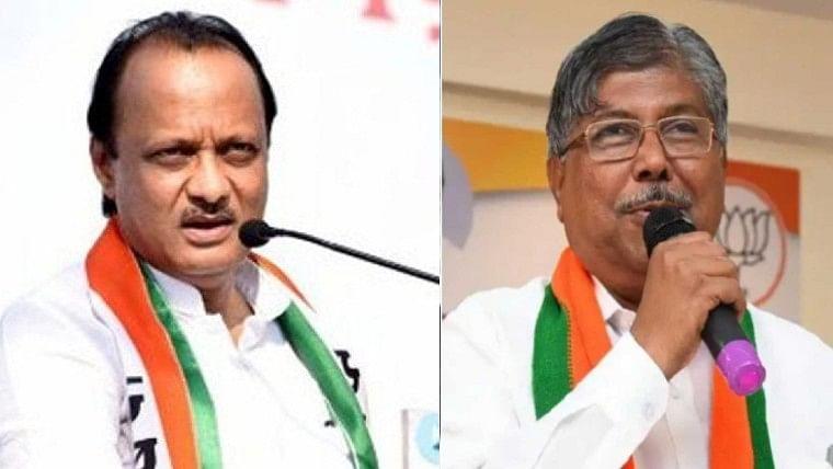You couldn't manage 28 NCP MLAs: Chandrakant Patil takes a dig at Maharashtra Dy CM Ajit Pawar