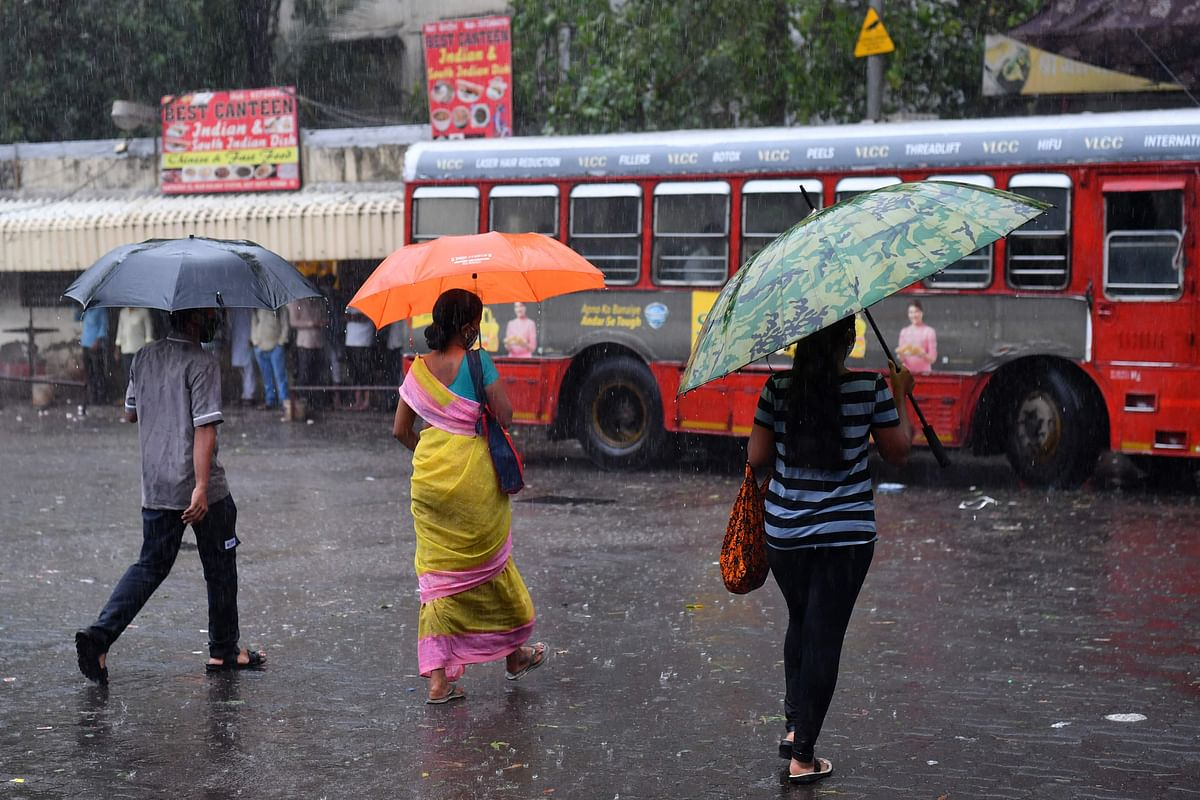 Mumbai weather update: IMD predicts moderate rainfall, thunderstorm today; high rainfall at isolated places