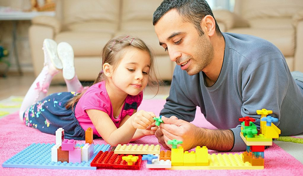 Being around children makes adults more generous, says a study