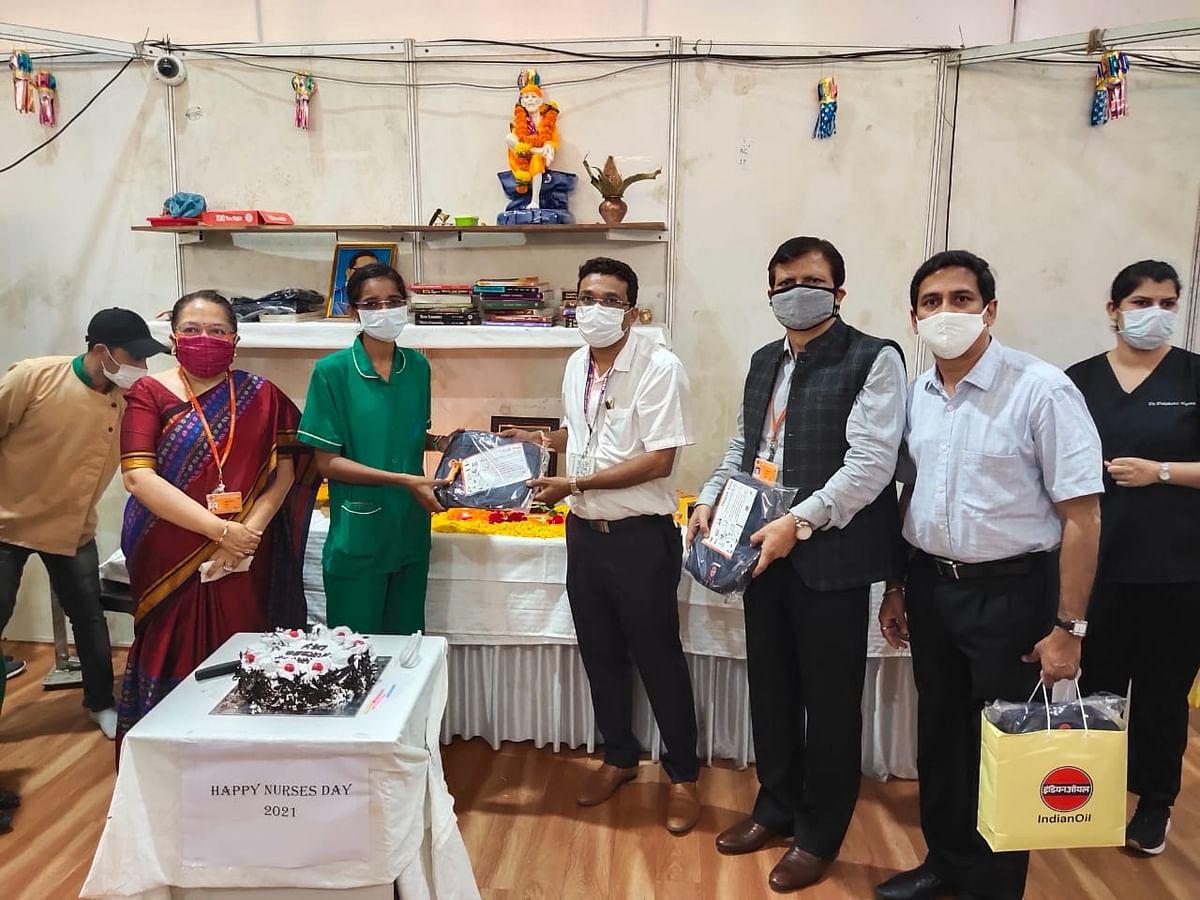 IndianOil felicitates nurses of Mumbai on International Nurses Day